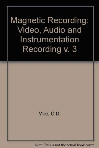 9780070412736: Magnetic Recording: Video Audio and Instrumentation Recording
