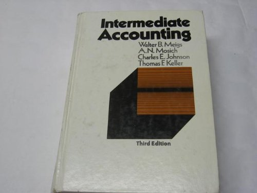 Intermediate Accounting Third Edition