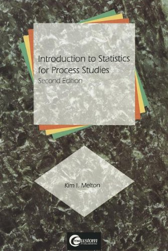 9780070414495: Introduction to Statistics for Process Studies