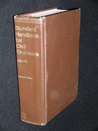 9780070415102: Standard handbook for civil engineers