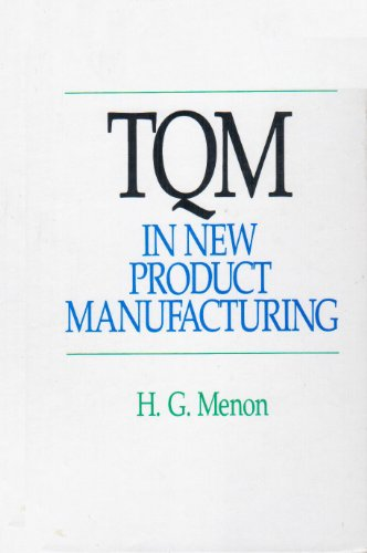 9780070415324: Tqm in New Product Manufacturing