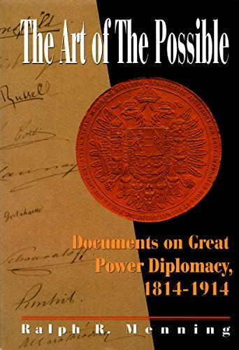 9780070415744: Art of the Possible: Documents on Great Power Diplomacy, 1814-1914