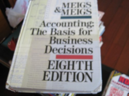 9780070416895: Accounting: The Basis for Business Decisions