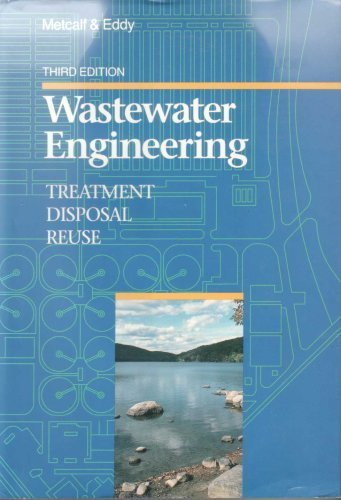 9780070416901: Wastewater Engineering: Treatment, Disposal, Reuse (Mcgraw-Hill Series in Water Resources and Environmental Engineering)