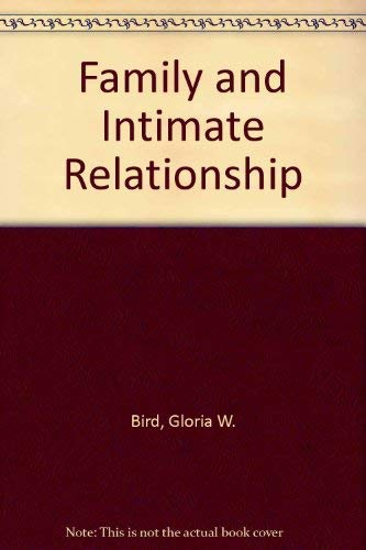 9780070417045: Family and Intimate Relationship