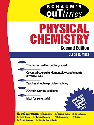 9780070417151: Schaum's Outline of Physical Chemistry (2nd Edition)