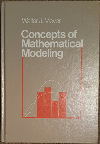 9780070417472: Concepts of Mathematical Modelling