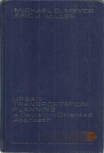 9780070417526: Urban Transportation Planning: A Decision-oriented Approach
