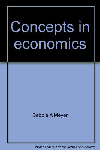 9780070417861: Concepts in economics (College custom series)