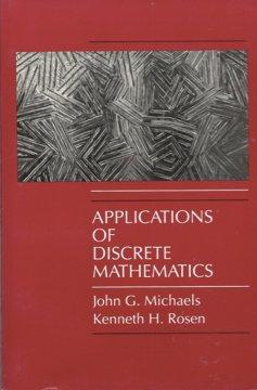 9780070418233: Applications of Discrete Mathematics