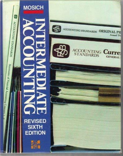 9780070418554: Intermediate Accounting
