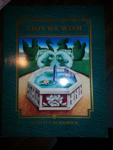 9780070420892: This We Wish Activity Workbook (Mc-Graw Hill Reading, Level L-Grade 4)