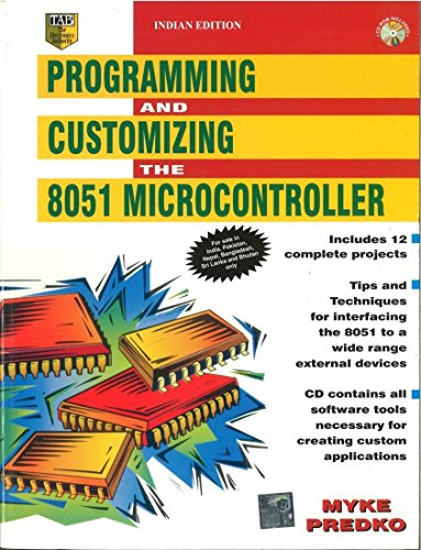 9780070421400: Programming & Customizing the 8051 Microcontroller (With CD) 1ED