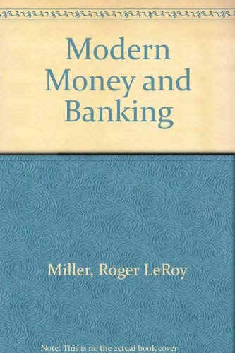9780070421639: Modern Money and Banking