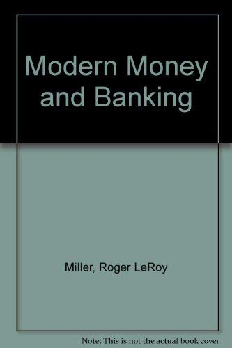 9780070422124: Modern Money and Banking