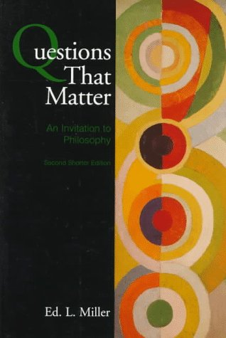 9780070422643: Questions That Matter: An Invitation to Philosophy Edition: 2