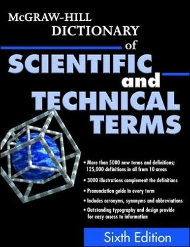 9780070423138: McGraw-Hill Dictionary of Scientific and Technical Terms (McGraw-Hill Dictionary of Scientific & Technical Terms)