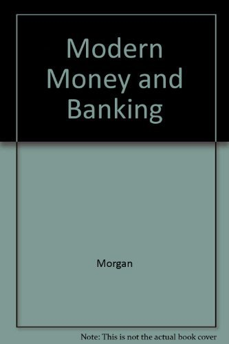 9780070423381: Modern Money and Banking