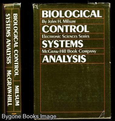 9780070423985: Biological Control Systems Analysis