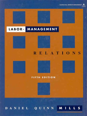 9780070425125: Labor Management Relations (McGraw-Hill Series in Management)