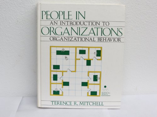 9780070425323: People in organizations: An introduction to organizational behavior (McGraw-Hill series in management)