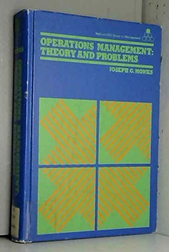 9780070427181: Operations management: Theory and problems (McGraw-Hill series in management)