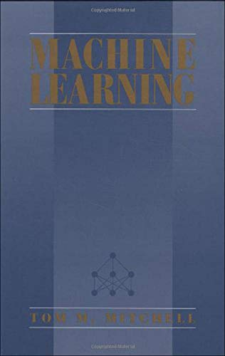9780070428072: Machine Learning (Mcgraw-Hill Series in Computer Science)