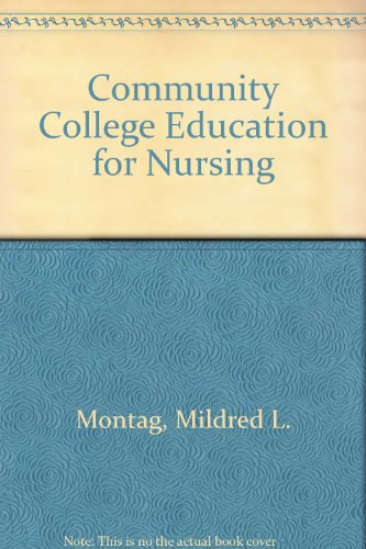 9780070428386: Community College Education for Nursing