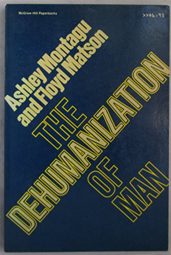 9780070428478: The Dehumanization of Man