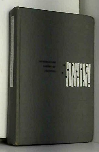 9780070428638: Introduction to the Theory of Statistics
