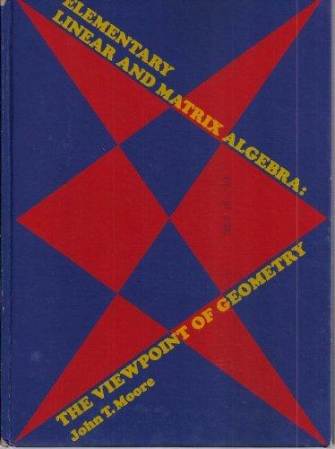 9780070429109: Elementary Linear and Matrix Algebra