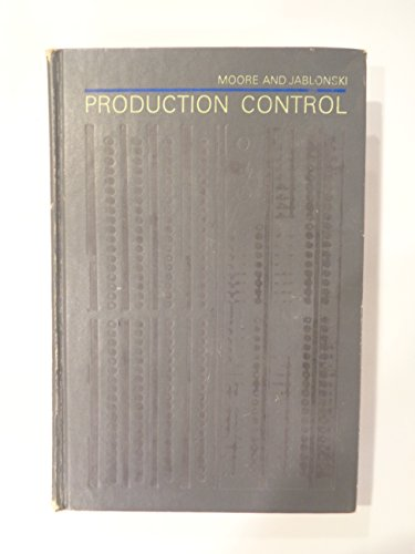 9780070429215: Production Control