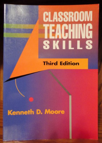 9780070429222: Classroom Teaching Skills
