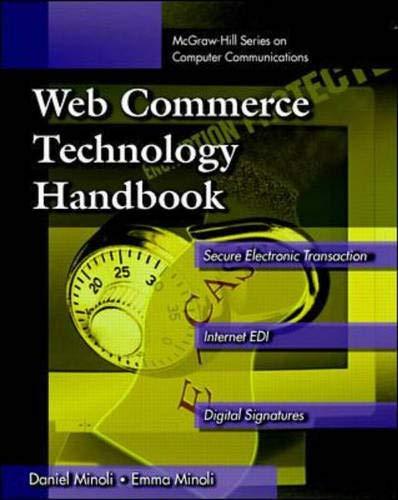 9780070429789: Web Commerce Technology Handbook (McGraw-Hill Series on Computer Communication)