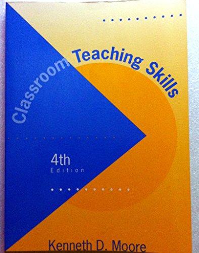 9780070429949: Classroom Teaching Skills