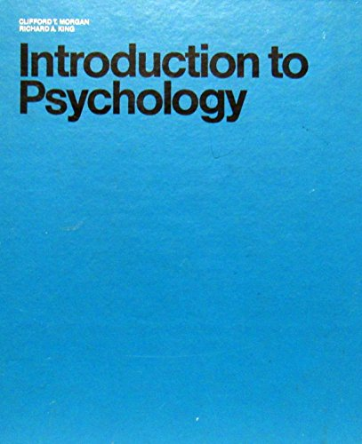 9780070430853: Introduction to Psychology