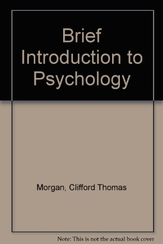 9780070431379: Brief Introduction to Psychology