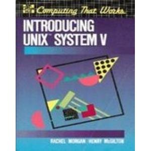 9780070431522: Introducing Unix System V (McGraw-Hill software series for computer professionals)