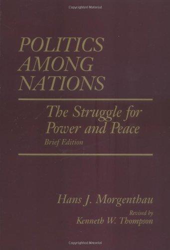 9780070433069: Politics Among Nations, Brief Edition