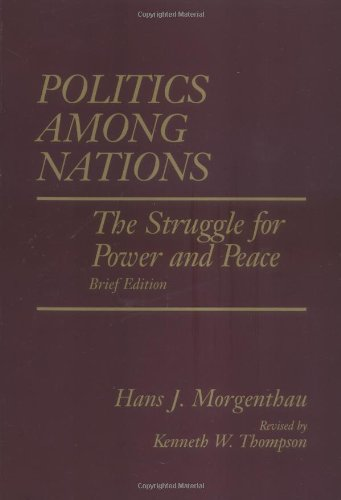 9780070433069: Politics Among Nations, Brief Edition: The Struggle for Power and Peace