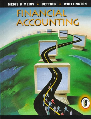 Financial Accounting (Book only): Meigs, Robert F.