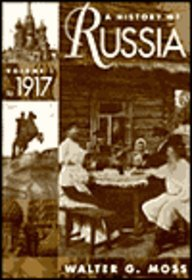 9780070434806: A History of Russia: Vol. I To 1917