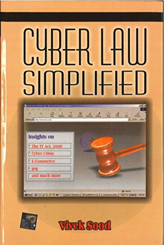 9780070435063: Cyber law simplified
