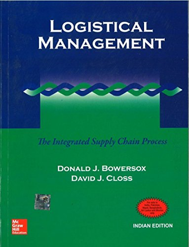 9780070435544: Logistical Management: The Integrated Supply Chain Process