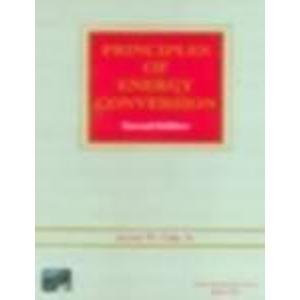 9780070435599: Principles Of Energy Conversion