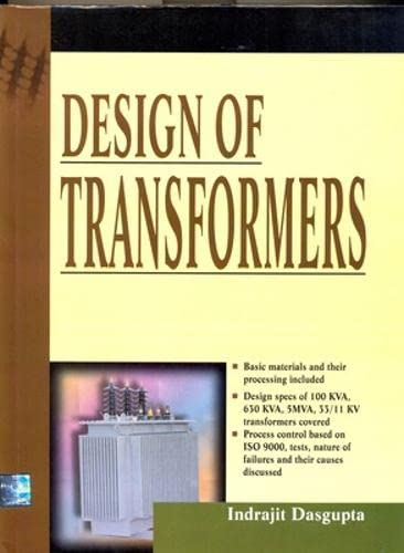 9780070436404: Design of Transformers