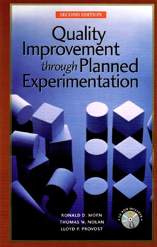 9780070439528: Quality Improvement Through Planned Experimentation [With CDROM]