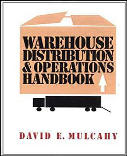 9780070440029: Warehouse Distribution and Operations Handbook (McGraw-Hill Handbooks)