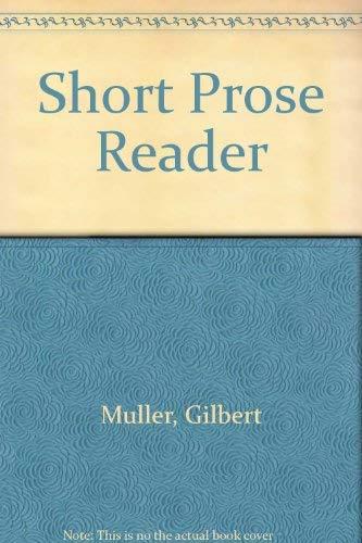 9780070440234: The Short Prose Reader