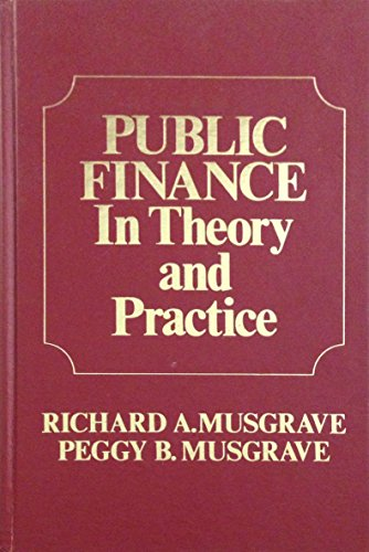 9780070441200: Public Finance in Theory and Practice